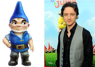 Gnomeo and James
